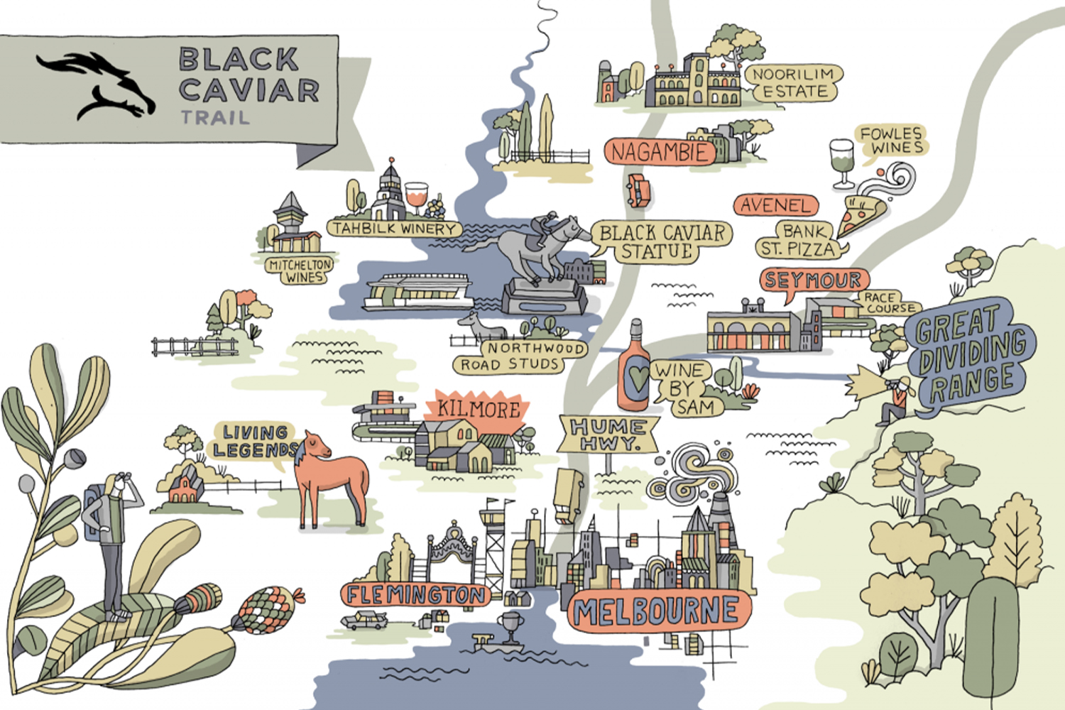 Follow the Black Caviar trail